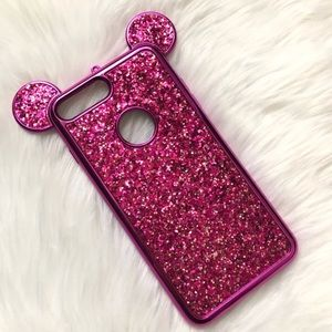 iPhone 7/8, 7+/8+ Pink Mickey Ears Case